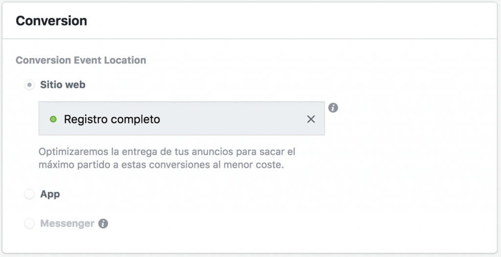 Optimizar anuncios Facebook Pixel