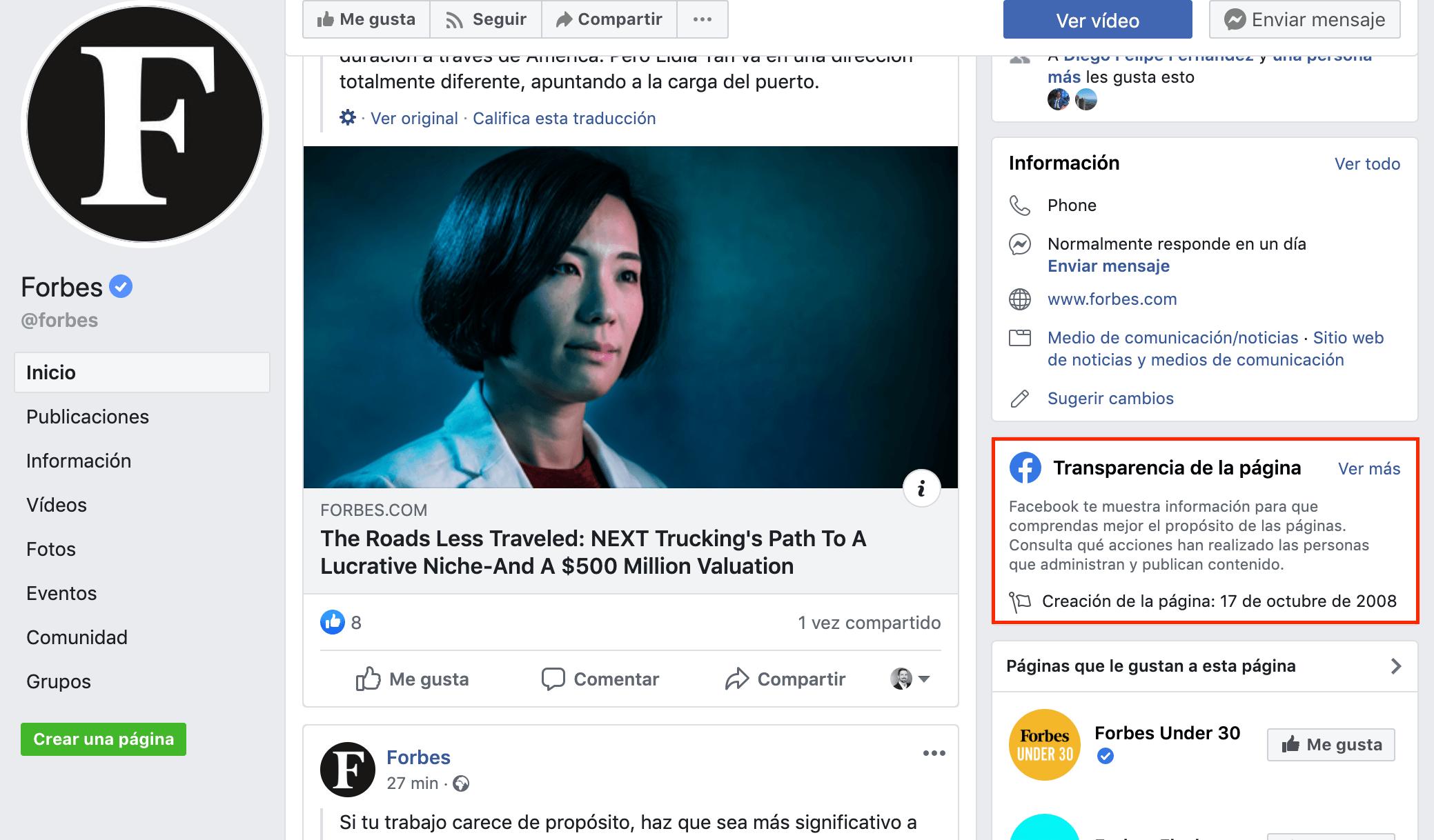 espiar anuncios de la competencia en Facebook