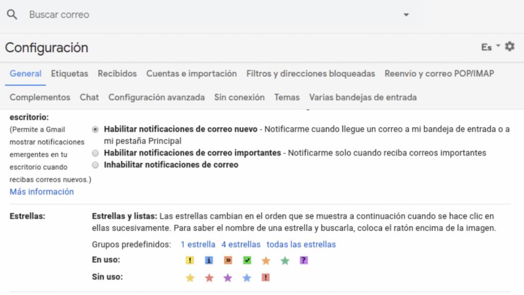 clasificar el email por clientes en gmail