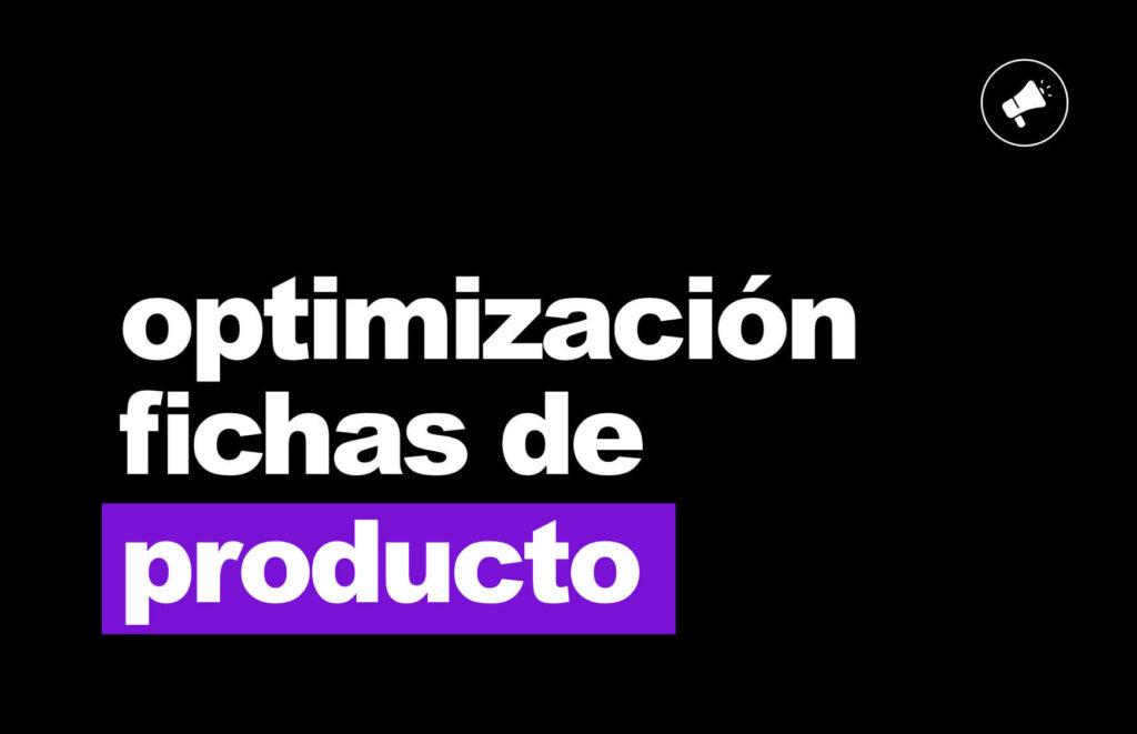 optimizacion fichas producto ecommerce